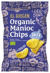 Chipsy z manioku solone bezglutenowe BIO 60 g