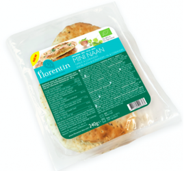 Chleb mini naan czosnek i kolendra BIO 280 g