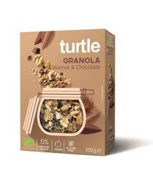 Granola orzech włoski - czekolada bezglutenowa BIO 350 g