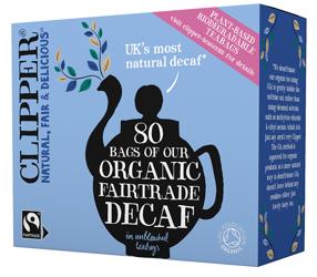Herbata czarna bezkofeinowa fair trade BIO (80 x 2,9 g) 232 g