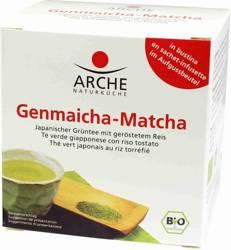 Herbata zielona genmaicha - matcha z ryżem ekspresowa BIO (10 x 1,5 g) 15 g