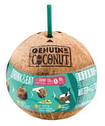 Kokos BIO ze słomką (około 0,75 kg)