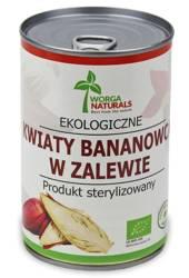 Kwiaty bananowca w zalewie bio 400 g (220 g) (puszka)