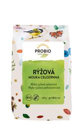 Mąka ryżowa pełnoziarnista bezglutenowa BIO 450 g