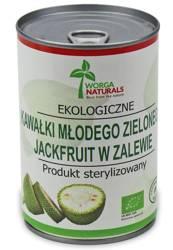 Młody zielony jackfruit kawałki w zalewie bio 400 g (220 g) (puszka)