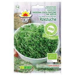 Nasiona ekologiczne na kiełki - Rzeżucha, P.N. Tor