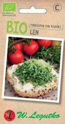 Nasiona na kiełki - Len BIO 5 g
