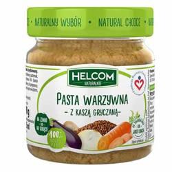 Pasta warzywna z kaszą gryczaną Helcom Naturalnie,