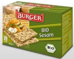 Pieczywo chrupkie żytnie razowe z sezamem BIO 250 g