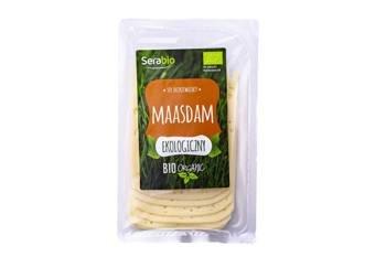 Ser dojrzewający Maasdam w plastrach BIO 125 g Serabio