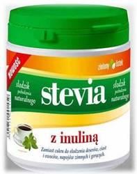 Słodzik z inuliną 140 g Stevia Zielony Listek