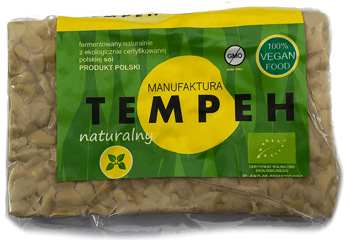 TEMPEH NATURALNY BIO 200 g - MANUFAKTURA TEMPEH
