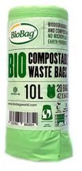Worki na odpady BIO i zmieszane 10 l 20 szt. (kompostowalne i BIOdegradowalne)